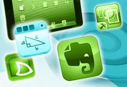 There are a variety of free apps designed with the instructor in mind, including Educreation, SlideShark, and Evernote.